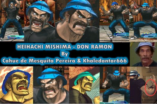 Heihachi Don Ramon - Sr. Madruga - UPDATE by cahuesnk