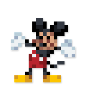 Day #23 - Mickey Mouse by JINNdev