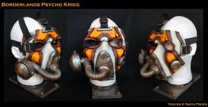 Borderlands Psycho Krieg Cosplay Mask by SKSProps