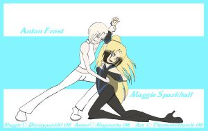 For Cris- Anton and Maggie by TheMaskedHomie