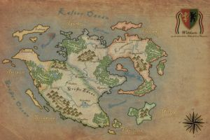 Fantasy map by Kristo1594