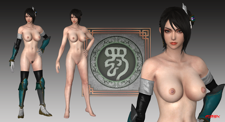 Xingcai (DW9) Nude Mod For XPS by cunihinx