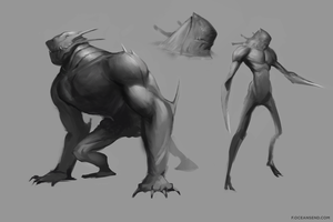 Creature-Designs by F87w