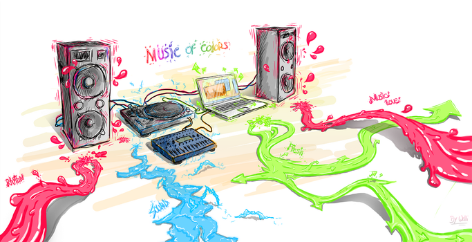Music of Colors by LiuWelli