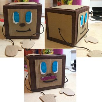 Tiny Box Tim Project: Finished by Skylordholly