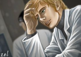 The sleepless doctor by LauraZel