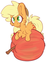 Proud Apple Pone by CutePencilCase
