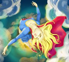 Supergirl by lady--boo