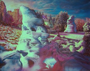 'Ice in the Garden' by Tolkyes
