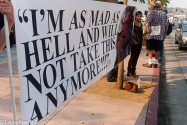 Day of Rage September 2011 by LauraAnnTull