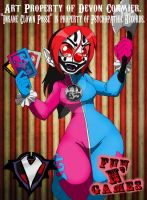 Fun N' Games - Kolor D. Juggalette by PlayboyVampire