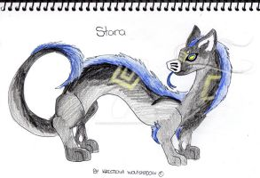Stara Evoloon Drawing Gift by KrestenaWolfShadow