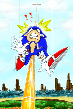 Classic Sonic Grinding by weaselwoman