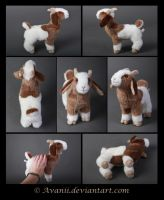 FOR SALE Billy the Goat Plushie by Avanii