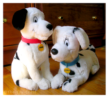 Pongo And Perdy Set - Applause by The-Toy-Chest
