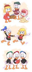 Ducklings - The Life and Times of Scrooge McDuck by Koizumi-Marichan