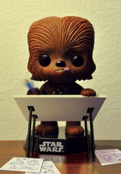 The french wookiee by StephaneRoux