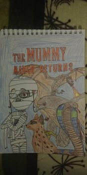 The Mummy Margo Returns poster by PeteDRaptor