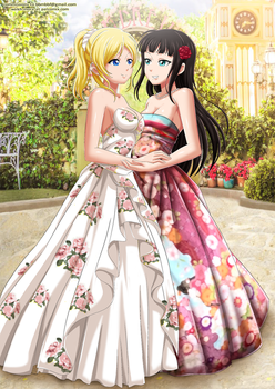 Eli and Dia by bbmbbf