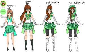 Sailor Icebreaker redesigned senshi formreference. by senshi-of-legend