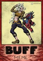 .com - Buff Meme Mag and Elecmon by Lord-Evell