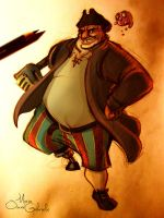 John Silver from Treasure Planet by MarioOscarGabriele