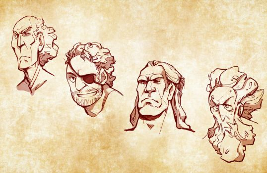 Greyjoy brothers by poly-m