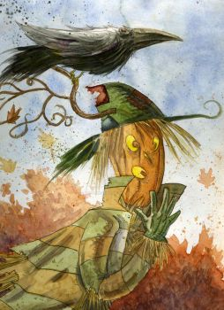 Scarecrow by mrsorrentino