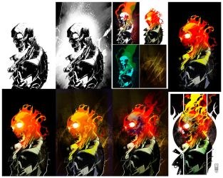 Building Ghost Rider by LeoColapietroArt