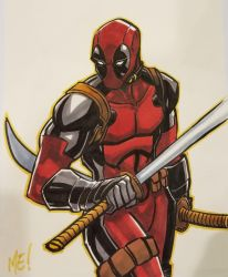 Deadpool Commission by MasonEasley