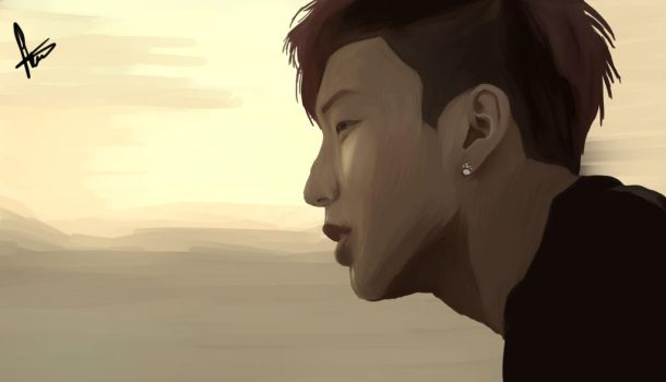 Jongup Coffee Shot 2 by KomorebiIllustration