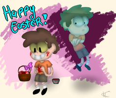 GF: Happy Easter  2015 by MikaMilaCat