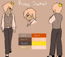 REF Sheet Jakiel (example) by GingerQuin