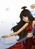 Katara-Fire Nation by Crymson99