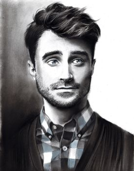 Daniel Radcliffe by meilin-mao
