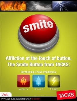 SMITE BUTTON by jhasson
