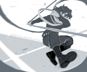 BNHA - ERASERHEAD - (click for full res!) by ABD-illustrates