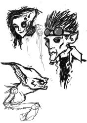 Alien sketches by CallingCtulhu