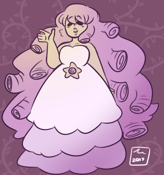 A rosey rose by Bee--Tea