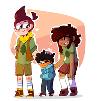Happy family by Puppiii
