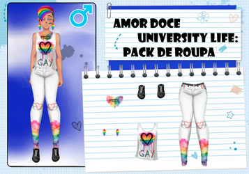 Amor Doce UL-Pack de roupas masculinas 2--Pride by Helyra