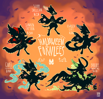 Halloween Event Fornlees by Kitkabean