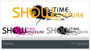 Showtime Coiffure Logo by Servetinci