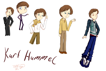 Glee - Kurt Hummel drawings by iTiffanyBlue
