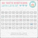 Emoticons: Teeth by apparate