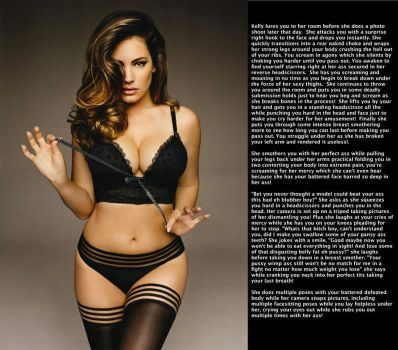 Kelly Brook Kicks Your Ass in Lingerie by Garpth