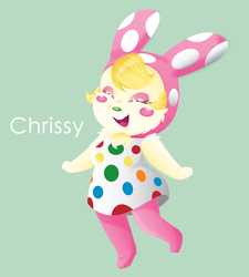 Chrissy - Animal Crossing by MissIllustrative
