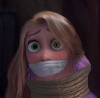 Rapunzel Rope Tied OTM Gagged 2 by Goldy0123