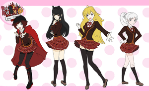 RWBY RWBY (colored) by Lord4536