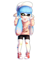 .: YOU'RE A SQUID :. by Hevirago